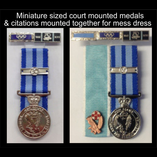 Miniture Medals - citations - NSW Police Force